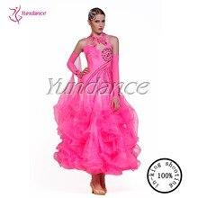 B-13112 Shinny Ballroom Dancing Dress