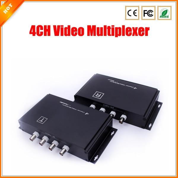 bilder für Bis zu 600 mt Übertragungsdistanz Security System 4CH Video Multiplexer für Cctv-kamera Freies Verschiffen
