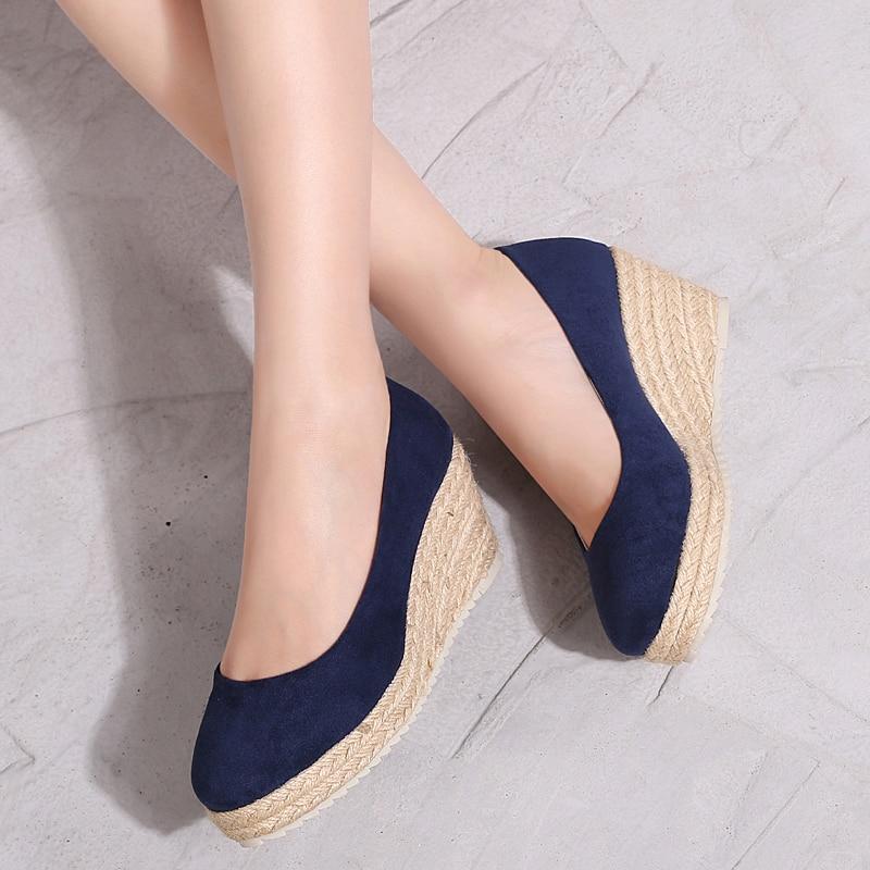 New platform shoes women chaussures femmes de luxe de marque dames schoenen ladies shoes espadrilles women цена