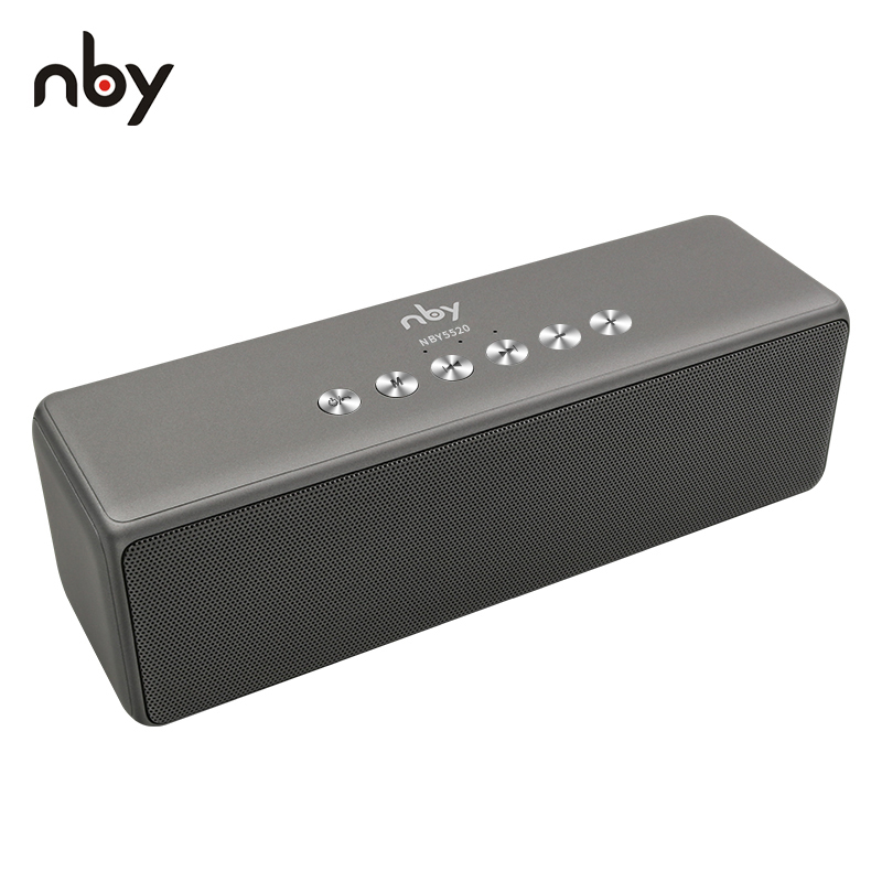 Bluetooth Speaker NBY Portable Wireless Speakers with Mic TF FM Radio Powerful Sound Loudspeakers For Phone Computer