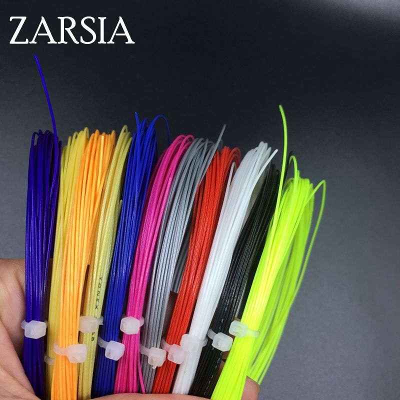 10 Pecs/lot Bulk Badminton Strings Training Badminton String,assorted Color,tenstion 22-27 Lbs