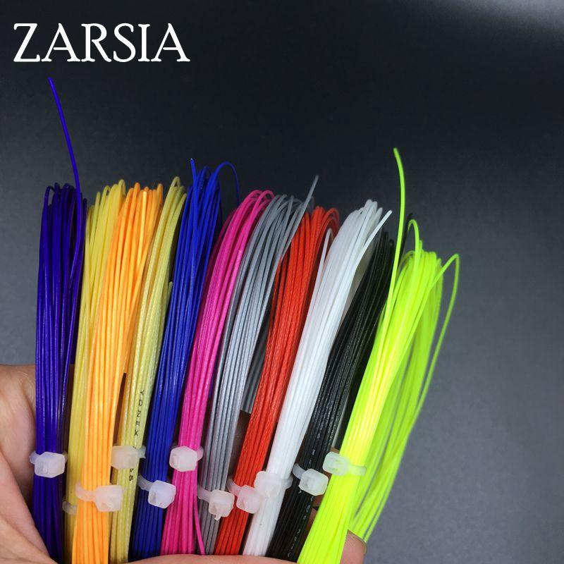 10 Pecs/lot Bulk Badminton Strings Training Badminton String,assorted Color,tenstion 22-27 Lbs