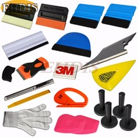EHDIS Professional Car Styling Tools Kit Film Wrap Application Squeegee 20pcs Ice Scraper Auto Car Window