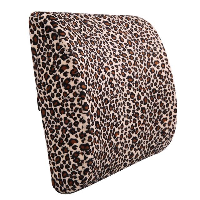 Cushion pillow cushion support office cartoon memory cotton waist cushion chair seat waist pillow waist by pregnant women