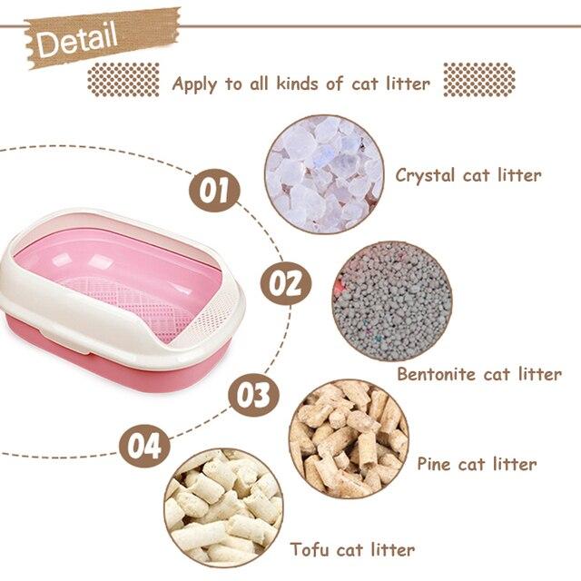 Cat Toilet Litter Durable Box 1