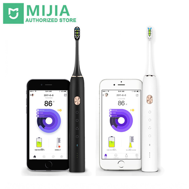 Xiaomi SOOCAS SOOCARE X3 Smart Sonic Electric brush Bluetooth Waterproof Wireless Charge Android iOS MiHome APP Remote Control