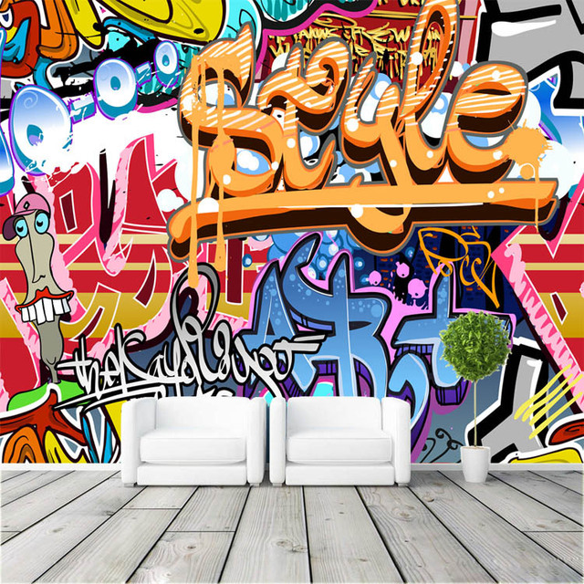 aliexpress com buy graffiti boys urban art photo race car children s murals raceway grand prix mural