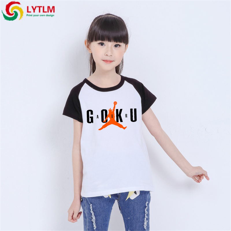 LYTLM T Shirt Dragon Ball Enfant Boys Funny Shirts Goku T-shirt Children Koszulki Meskie Baby Boy Summer Clothes Big Girls Tops(China)