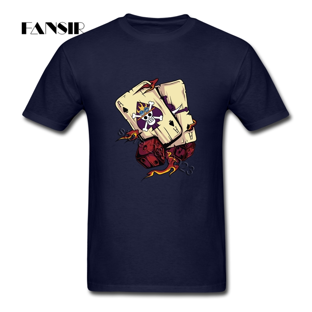 Normal T Shirt Male One Piece Anime Ace Men T-shirt Short Sleeve O Neck Adult Clothing