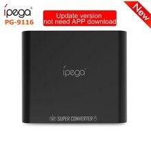 Ipega PG-9116 Bluetooth клавиатура и мышь опора для переходника FPS игр/RoS/ножей/Pubg нет симулятор для обнаружения риска