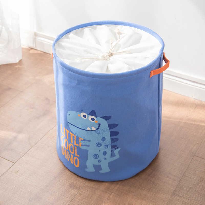 Lavar a Roupa Suja cesto de roupa suja Cesta de Armazenamento Super Grande Brinquedo EVA Caixa de Artigos Diversos Organizador Bin Dobrável Algodão Piquenique À Prova D' Água