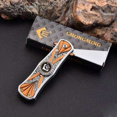 Fidget Spinner Knife EDC Fingertip Multifunctional New Self-Defense-Tool Folding Wild-Survival img2