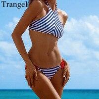 New Beach Sexy Print Bikini Women 2015 High Neck Swimsuits For Women Halter Brazilian Swimwear Retro
