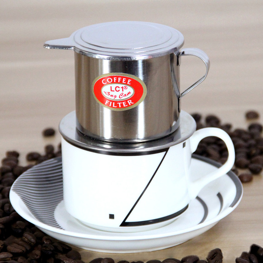 Espresso Coffee Maker Tool Steel Drip Coffee Filter Maker Pot Infuser Coffee Machine Filter Tools  For Office Home Traveling gift box set handleless pot pillar cup filter cup drip coffee maker grinder home use can send a person top grade coffee gift box