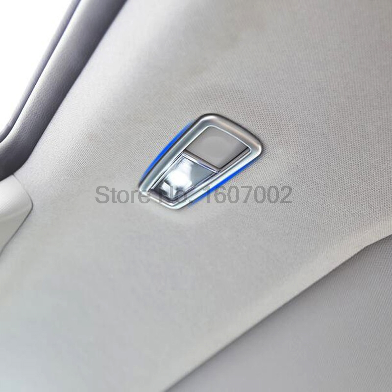 For Hyundai Tucson 2016 2017 2pcs Chrome Car Rear Side Readlight Lamp Bezel Molding Trim Auto Interior Accessories