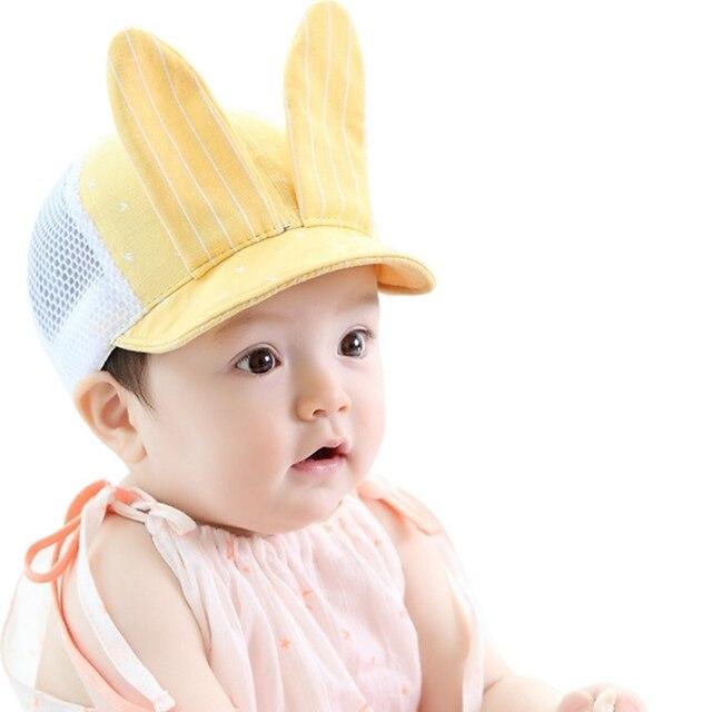 Mélange de coton Enfant En Bas Âge Infantile Soleil Belle Cap D été Mignon  Bébé bc20daa3e84