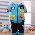 boy toddler winter suitBaby cotton thick coat, Kids sweater,children's Suite,2014Kids Clothes/baby clothes