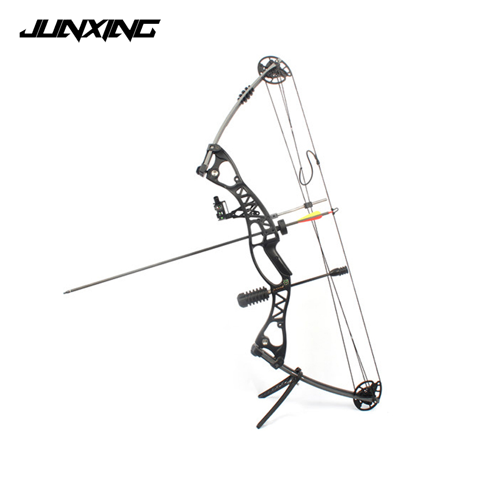 Compound Bow 40-60lbs 40 Inch Aluminum Alloy Black/Blue Handle with Peep Sight for Adult Hunter Outdoor Archery Hunting Shooting 20 70 lbs compound bow 17 29 inch by aluminum alloy in 3 color for outdoor archery hunting shooting