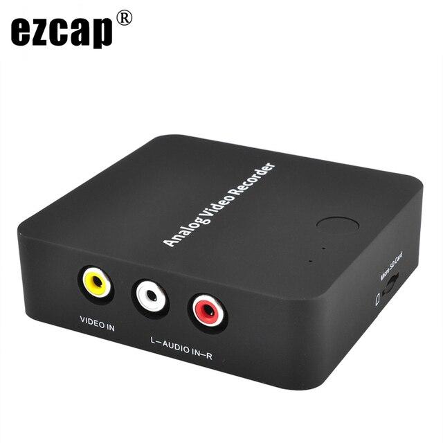 Enregistreur AV analogique ancien caméscope à bande vidéo magnétoscope VHS lecteurs de jeux DVD Hi8 Capture vidéo au format numérique carte TF hdmi pas besoin de PC