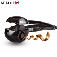 Good Quality 110 220V Steam LCD Automatic Hair Curler Digital Hair Styling Tools Pro Electric Wave