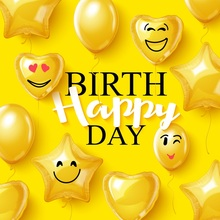 Laeacco Kid Backdrops Happy Baby Birthday Day Balloons Child Portrait Photographic Backgrounds Photocall Photo Studio