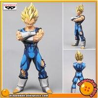 Japan Anime Dragon Ball Z Original Banpresto Grandista Collection Figure SUPER SAIYAN VEGETA Manga Dimensions