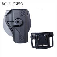 For PX4 Tactical Airsoft Paintball Right Handed Pistol Gun Holster W/ Belt Loop Waist Paddle Black