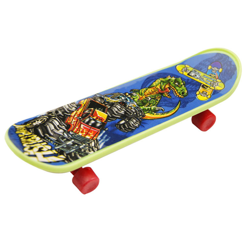 4PCS Finger Board Tech Deck Truck Mini Skateboard Toy Boy Kids Children Gift
