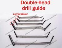 small animal orthopedic instrument bone screw double head drill guider dual purpose spring compression drill tapping sleeve ao
