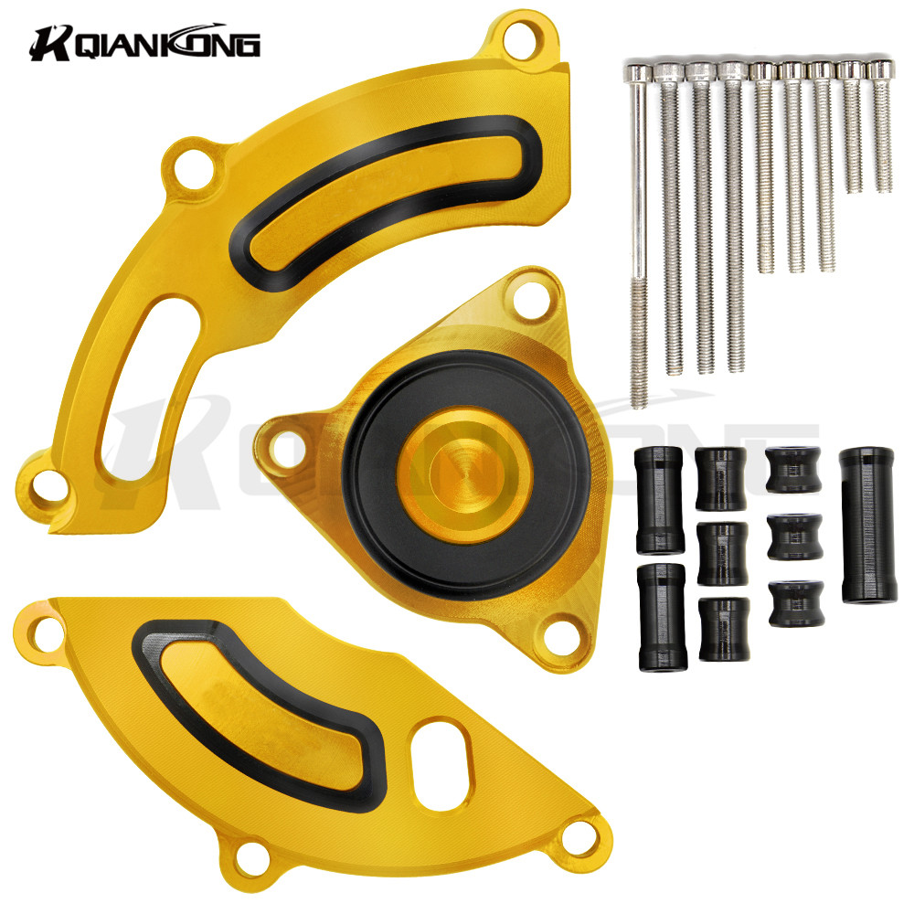 Motorcycles Engine Stator cover Protection case Crank Case For YAMAHA TFS150/LC150 R150 stator coil