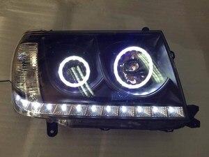 RQXR headlight assembly for Toyota Land Cruiser LC100 FZJ100 UZJ100 4500 4700 2006-2007,2pcs