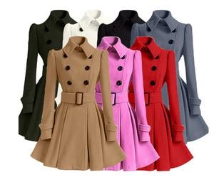 Flying Roc 2019 Women Winter Coat Women Windproof Clothing Plus Size Parkas Femme Long Coats And Jackets Women Outwear Jackets