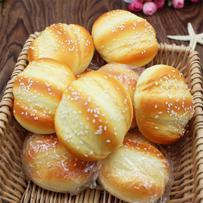 7CM Cute Funny Stress Soft Bread Squishy Hand Squeeze Slow Rising Anti Stress Toy Kids Toy Gift Gags Practical Jokes Dolls Toy