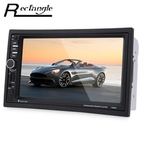 7020G GPS Navigation 7 Inch Double Din Touch Screen Car Radio DVD MP5 Video Player Bluetooth