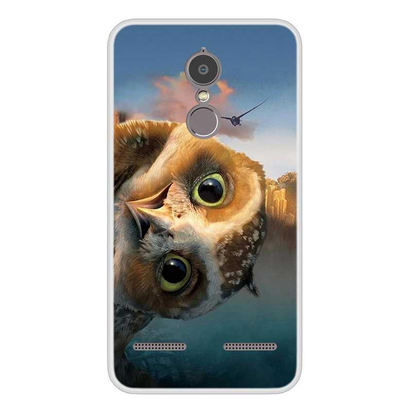 טלפון מקרה עבור Lenovo K6 כוח רך סיליקון TPU מגניב דפוס צבוע עבור Lenovo K33A42 מקרה במלאי