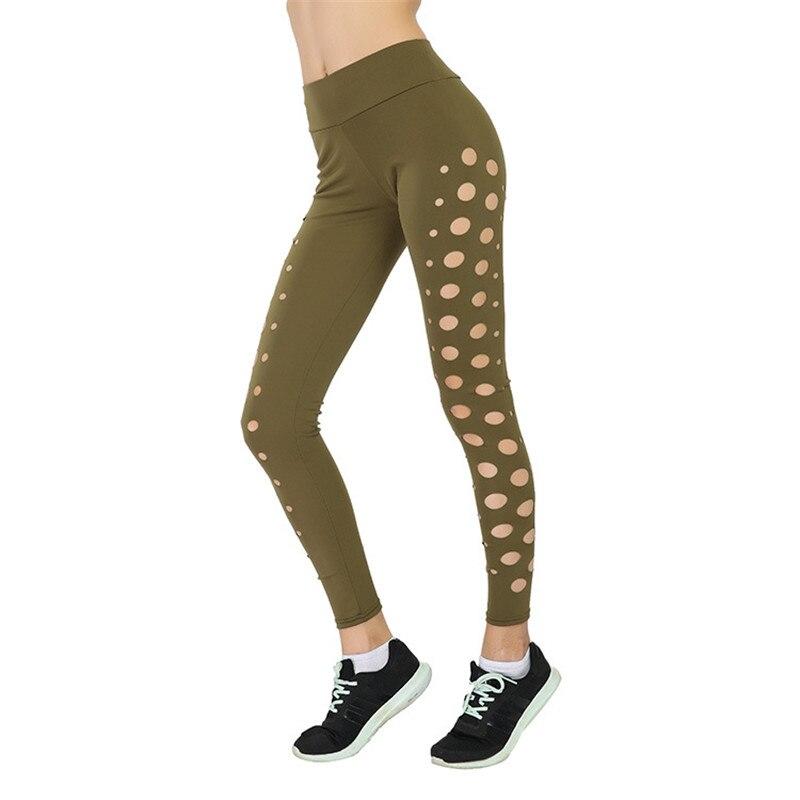 Laser Cut Side Leggings Casual Womens Leggings Pants Black Hollow Out Activewear for Women Fitness Leggings High Waist leggings