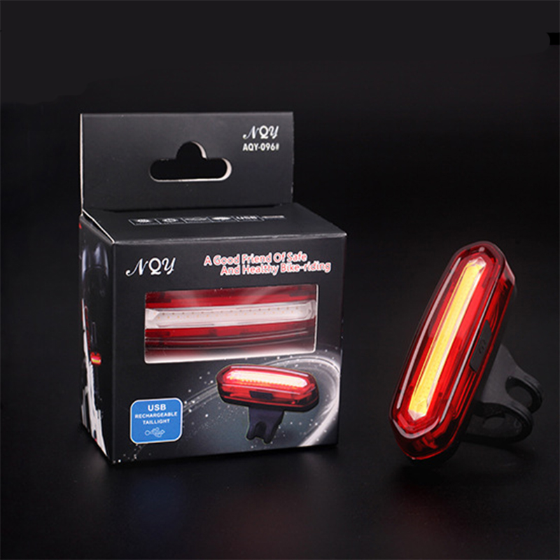 2019 New Rear Bike Light Taillight Safety Warning USB Rechargeable Bicycle Light Tail Lamp Comet LED Cycling Bicycle Light