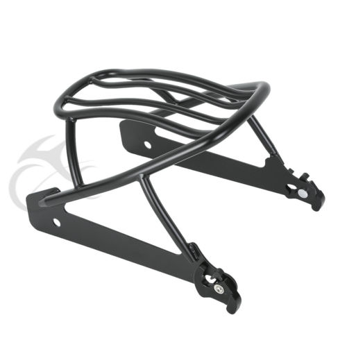 Detachable Solo Luggage Rack For Harley Dyna Wide Glide Low Rider Street Glide