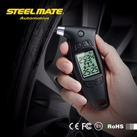 Steelmate TPMS TC 01 Handheld Car Digital Tire Pressure Gauge 1 6 LCD Display Power Off