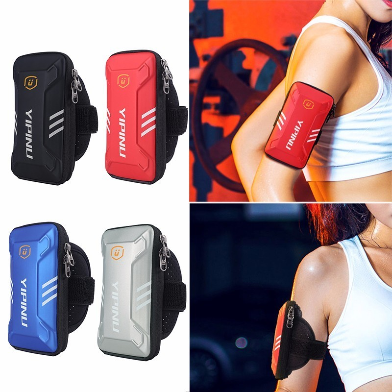 Men and Women Universal Arm Band Bag for Mobile Phone 5.0inch-6.0inch Zipper Running Sports Bag Armband Case Phone Holder Bag