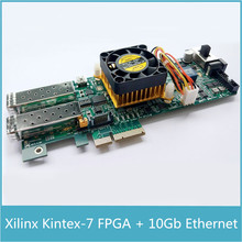 Xilinx Kintex7 FPGA Development Board PCIe Kintex 7 FPGA XC7K325T PCIe Card with 1024 MB DDR SDRAM 10Gb Ethernet Gigabit Network