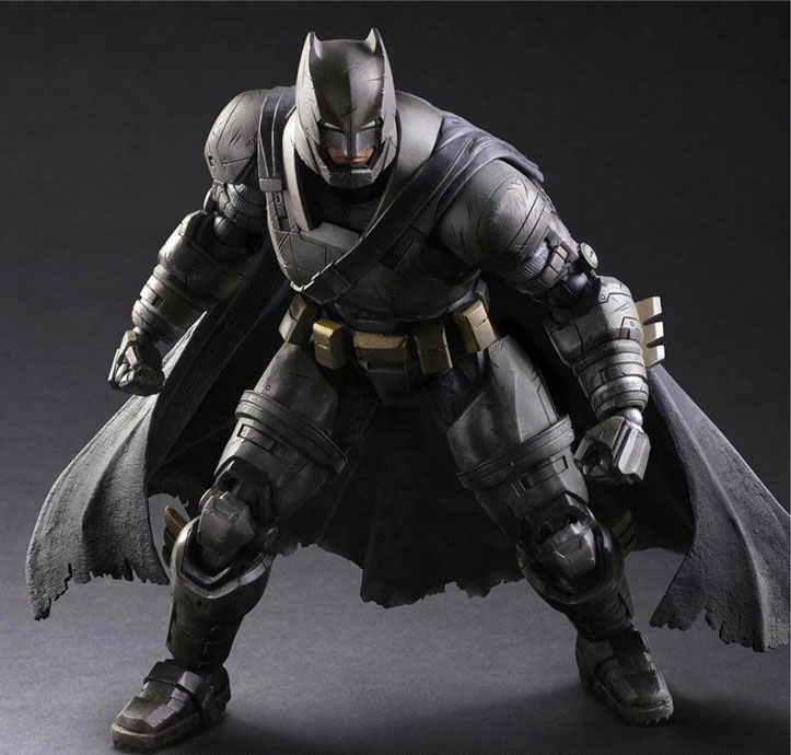 Free Shipping 10 PA KAI Dawn of Justice Batman Heavy Armor Ver. Boxed 26cm PVC Action Figure Collection Model Doll Toy стоимость