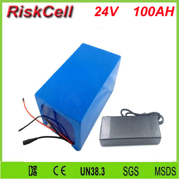 Free customs taxes and shipping High quality  lithium battery 1200w 24v 100ah for solar power,UPS with 5A fast charger and  bms free customs taxes high quality 48 v li ion battery pack with 2a charger and 20a bms for 48v 15ah 700w lithium battery pack