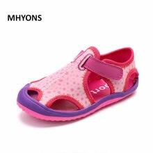 726334a8e MHYONS 2018 novas crianças sapatos casuais meninos e meninas sandálias de  verão não-deslizamento crianças