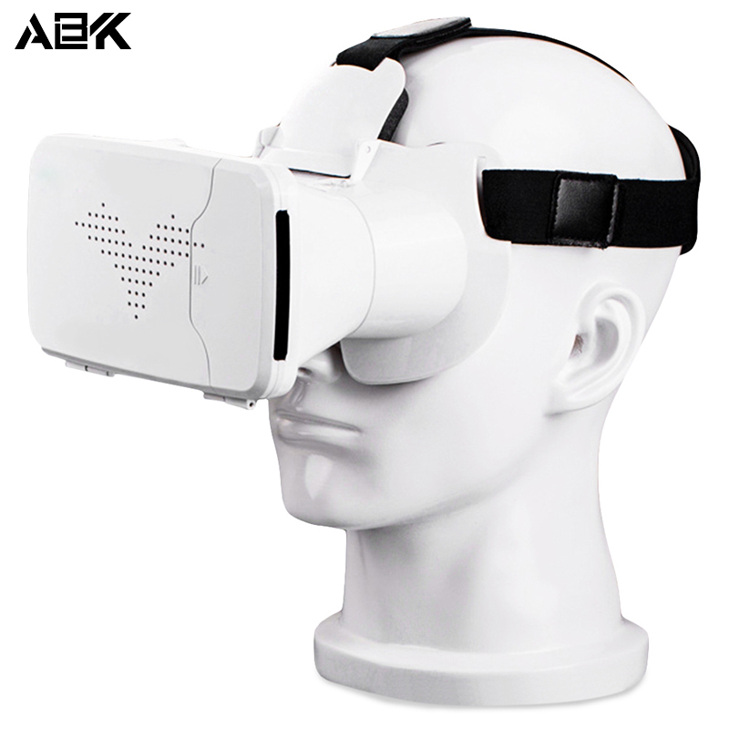 ALBK V8 3D Virtual Reality Head-Mounted Video Glasses with 90 Degree View Angle for 3.5 – 6.0 inches screen smartphone