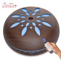 THANKSHARE 550ML Large Capacity Ultrasonic Aroma Diffuser Air Humidifier 7 Colors LED Lights Essential Oil Diffuser