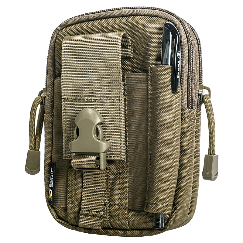 Sector Seven D30 Tactical Compact Waist Packs MOLLE Compatible EDC Pouch Men Casual Waist Bag