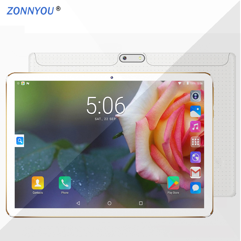 10.1 Tablet PC Android 7.0 3G LTE Octa Core 4GB RAM 64 GB ROM Dual SIM Tarjetas IPS GPS Tablet PC