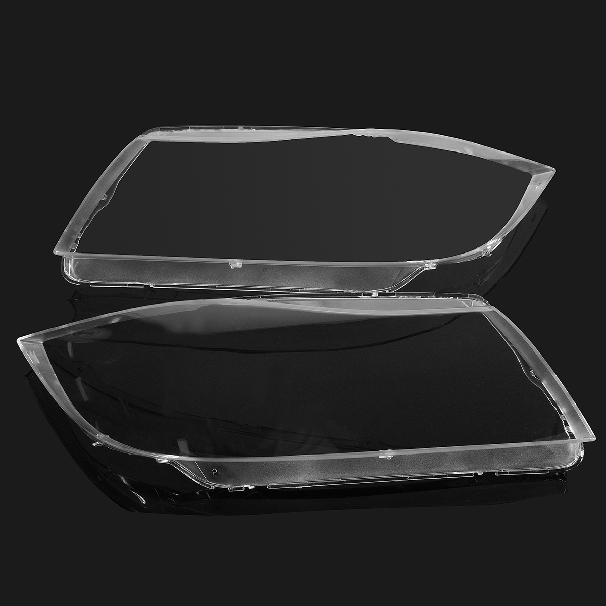 New Pair Front Left+Right Headlight Headlamp Clear Lens Plastic Cover For BMW E90/E91 04 07 4769886123 Car styling