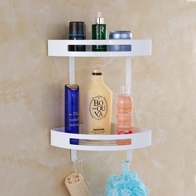 AUSWIND Amerikaanse Rvs Wit Cosmetische Hoek Badkamer Plank ...
